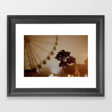 Sea Mist on the Plymouth Eye Framed Art Print