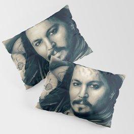 Johnny Depp II. Pillow Sham