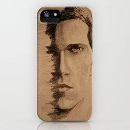 HALF FACE iPhone Case