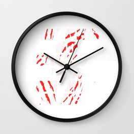 """There's No Excuse For Animal Abuse"" for animal and fur lovers out there! Fight for what is right!  Wall Clock"