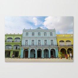Slice of Havana Canvas Print