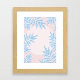Summer Jungle Framed Art Print