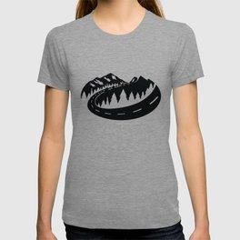 Cascade Camper Stealth Logo T-shirt