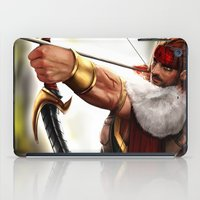 rogue iPad Cases featuring Rogue by KlsteeleArt