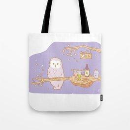 The Owl's bar Tote Bag