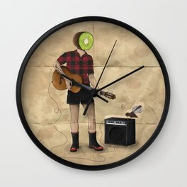 Kiwifruit Jam Wall Clock