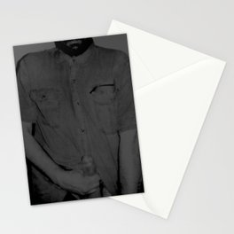 Here I Am-grey Stationery Cards