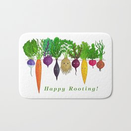 Happy Rooting! Bath Mat