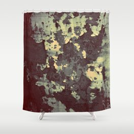 silver and bronze Shower Curtain