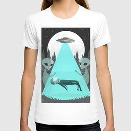 ufo alien abduction T-shirt