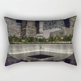 9-11 Memorial New York City Rectangular Pillow