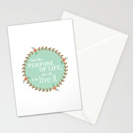 The Purpose of Life, Eleanor Roosevelt Stationery Cards