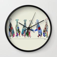 racers 6 Wall Clock
