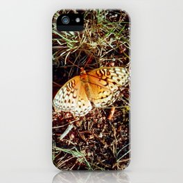 Just A Plain Ole' Butterfly iPhone Case