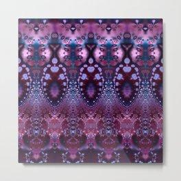 Princess Lace In Pink Metal Print