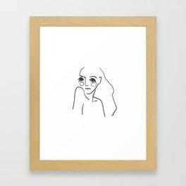 Daring Framed Art Print