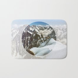 In The Mountains Bath Mat