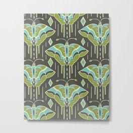 La maison des papillons Metal Print