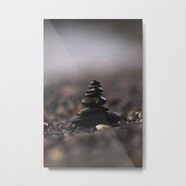 ZEN STACK Metal Print