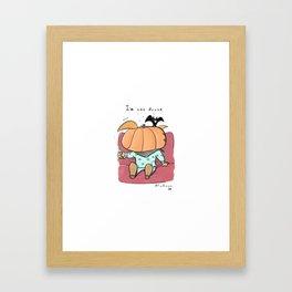 D R U N K (Halloween) Framed Art Print