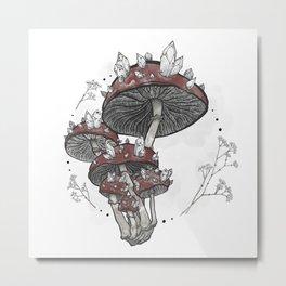 Magic mushroom I Metal Print