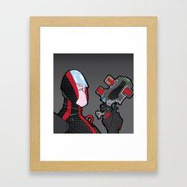 joe big gun Framed Art Print