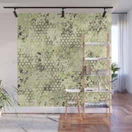 Sage Green Odyssey Wall Mural