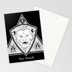 Suit of Swords - Strength Stationery Cards