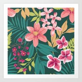 Blossom Pink Art Print