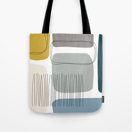 Abstract Shapes 01 Tote Bag