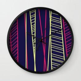 NEON LIGHTS Wall Clock