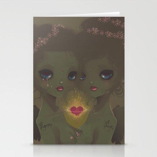 Love & Live Stationery Cards
