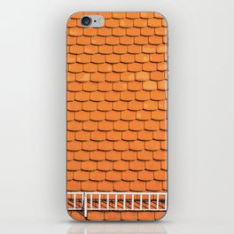Tiled Roof After Summer Rain iPhone Skin