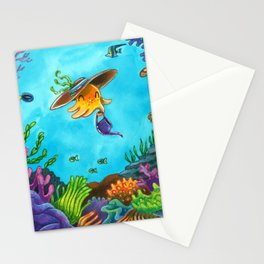 Octopus's Garden Stationery Cards