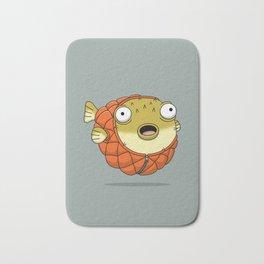 Puffer fish Bath Mat