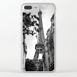 Catching a glimpse Clear iPhone Case