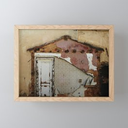 Unidimensional house Framed Mini Art Print