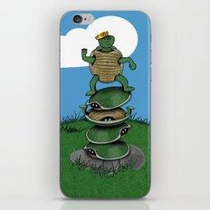 Yertle The Turtle iPhone & iPod Skin