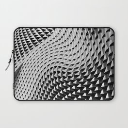 Wavy Structure Laptop Sleeve