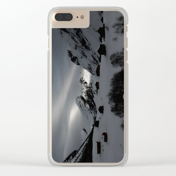 Coming Home Clear iPhone Case