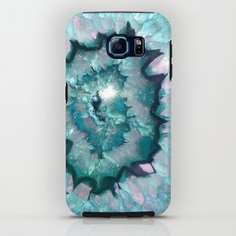 Teal Agate iPhone Case