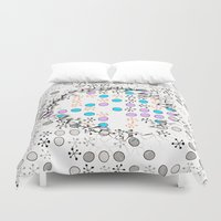 cracked Duvet Covers featuring Cracked by Susann Mielke