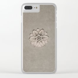 Flowers of Florence Clear iPhone Case