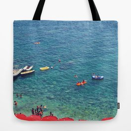 Summers in Capri are what dreams are made of. Tote Bag