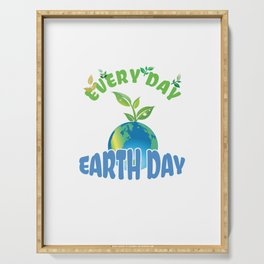 Earth Day Serving Tray
