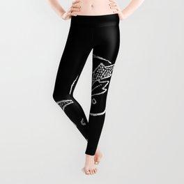 J Monogram Leggings