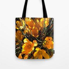 Colourful Crocus Tote Bag