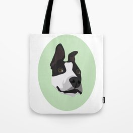 Silly Pitbull Tote Bag