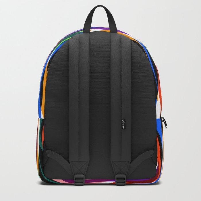 Colorful seaweed Backpack