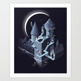 Monumental Harry Art Print